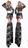 Armed Forces Girls by Stilt Pros