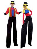 Carnival Stilt Walkers