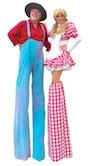 County Fair Stilt Walkers by Stilt Pros