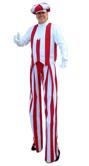 Candyland Man Stilt Walker by Stilt Pros