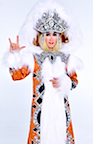 Cher-Impersonator-Snow-Queen
