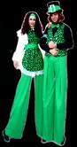IRISH LADS AND LASSIE STILT WALKERS BY STILT PROS