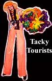 TACKY TOURIST STILT WALKERS BY STILT PROS