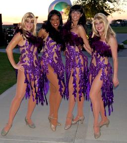 Vegas style dresses